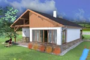5 persoons Bungalow Frymburk Residence Lipno